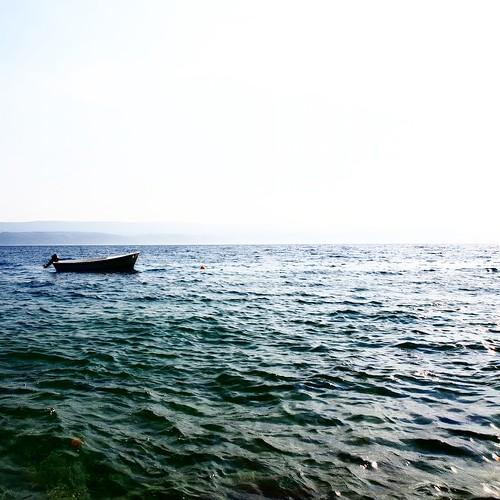 La tranquillità del mare. Omiš