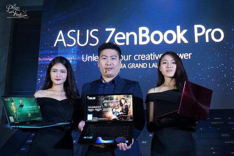 asus zenbook pro event