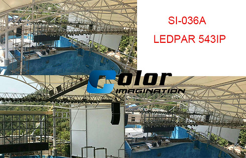 SI-036A LEDPAR 543IP waterproof par light