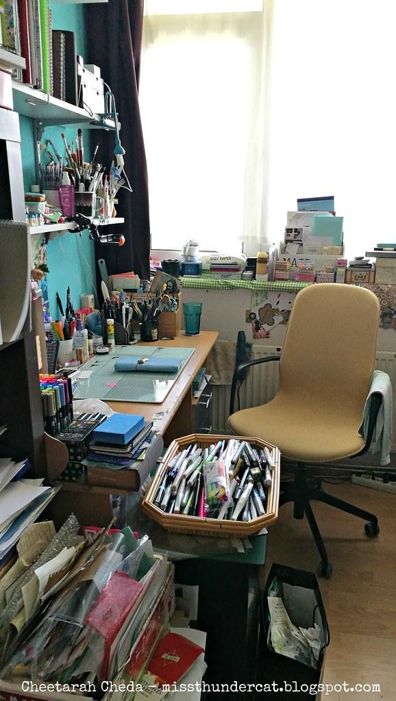corners of my studio