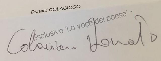 esposto con firma falsa