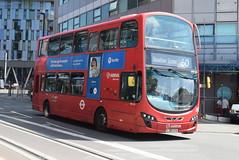 AL DW321 @ West Croydon bus station