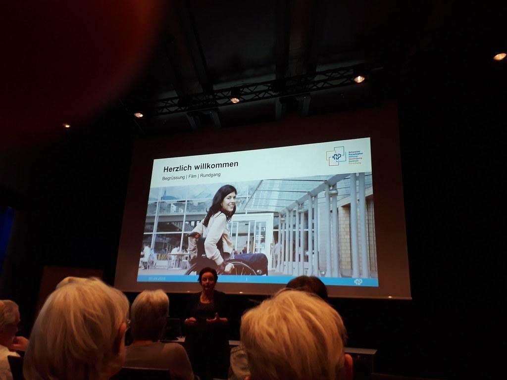 Besuch des Schweizer Paraplegiker-Zentrum Nottwil, 7.9.18