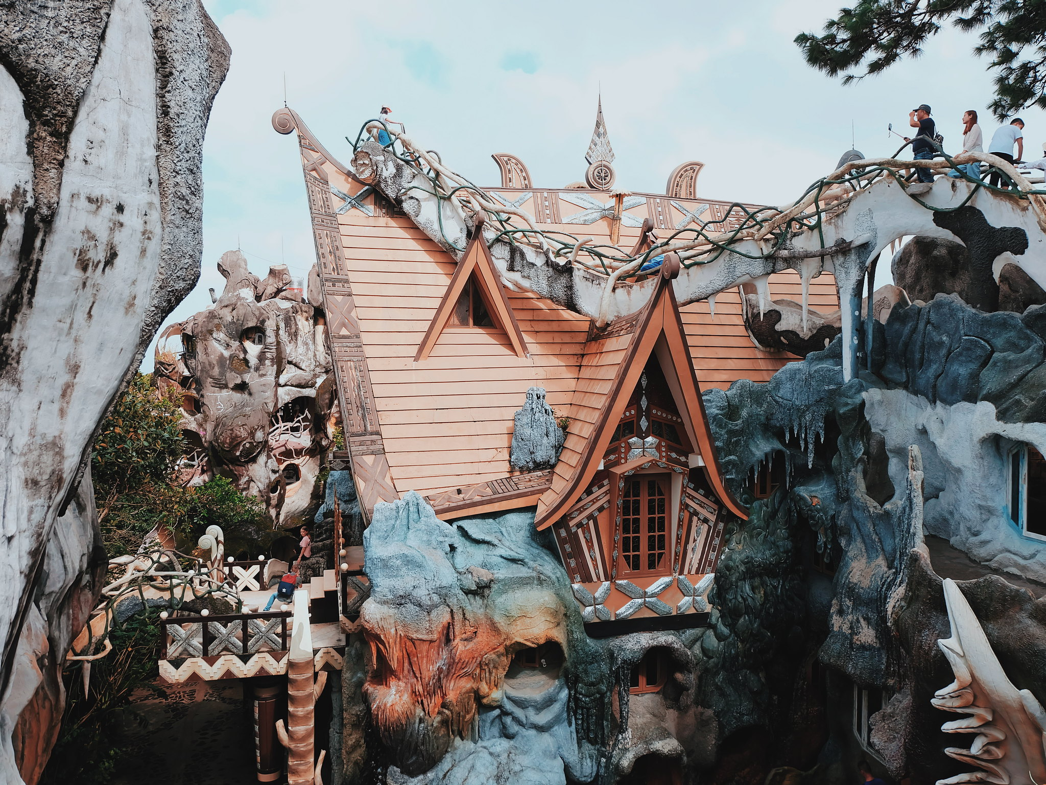 The Crazy House in Da Lat, Vietnam (Hang Nga Guesthouse)