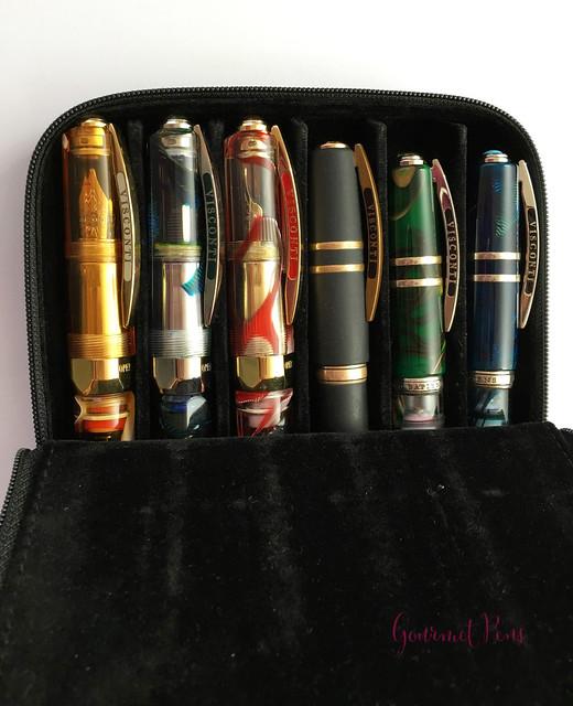 Visconti Zippered Leather Pen Cases @AppelboomLaren @CouronneduComte 12