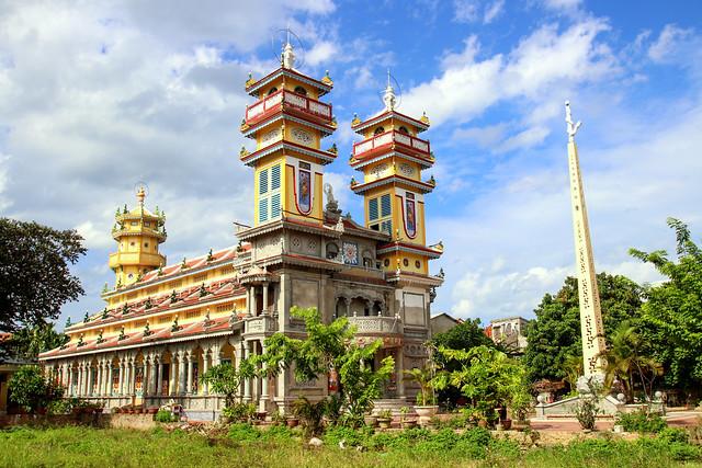 Cao Dai temple in Hoi An, Vietnam