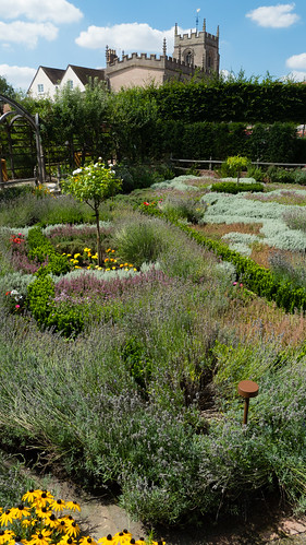 Herb garden, New Place, Stratford on Avon