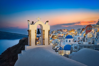 Santorini & Night Lights | by Luís Henrique Boucault
