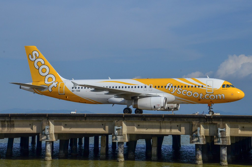 Scoot Airbus A320 - 200 9V-TRR