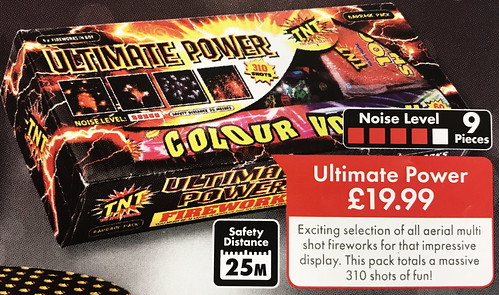 £19.99 LIDL PRICE - ULTIMATE POWER BARRAGE BOX