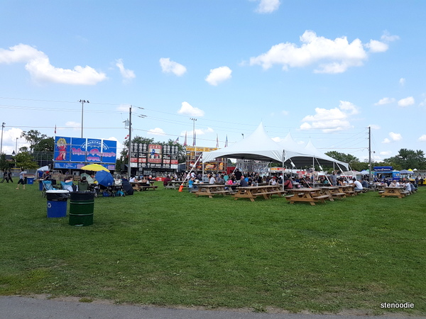 Stouffville Ribfest grounds