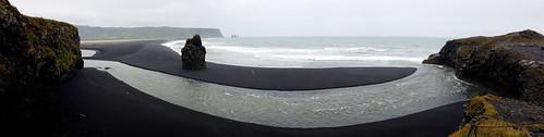 black beaches