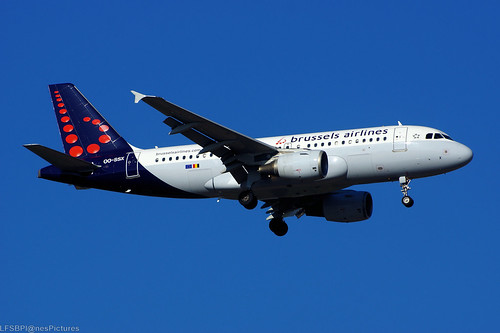 OO-SSX(cn 2260) Airbus A319-111 Brussels Airlines