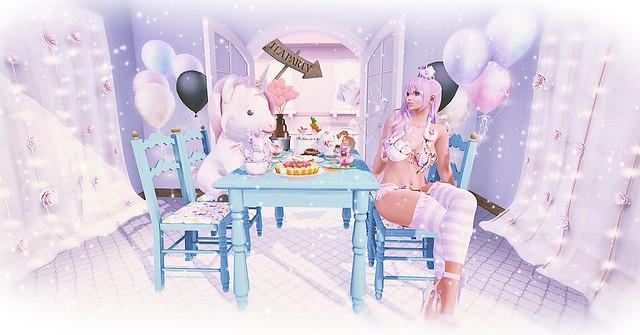 SL Photo Challenge - September - Tea Party