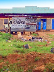 Kenya, Masai Mara National Reserve. Auto Dealership