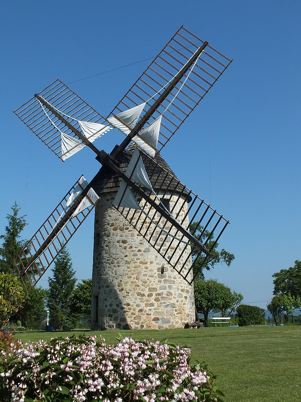 Lunan - Moulin à vent de Seyrignac