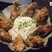 Dak Nalgae Twigim - Marinated fried chicken wings with soy and garlic sauce