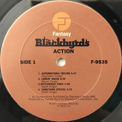THE BLACKBYRDS:ACTION(LABEL SIDE-A)