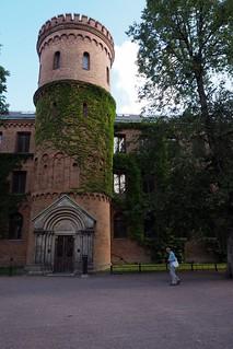 Tower in Lund, Sweden