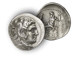 Tetradrachm of King Areus of Sparta