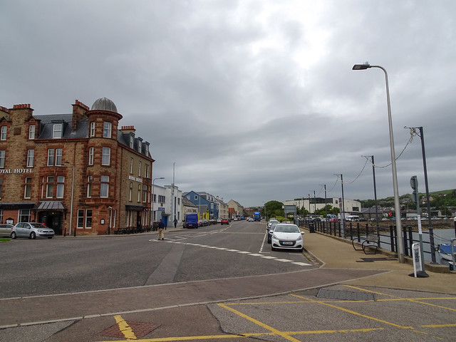 Eastern end of Kinloch Road, Campbeltown, 2018 Aug 01