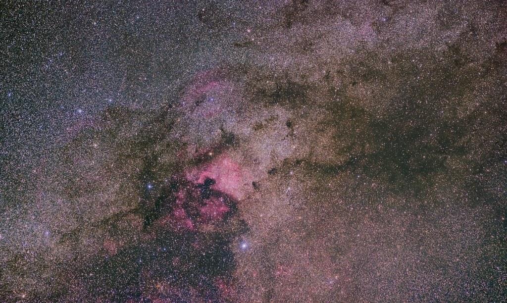 NGC7000, around