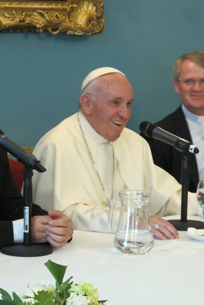 Pope Francis' Audience with Irish Jesuits