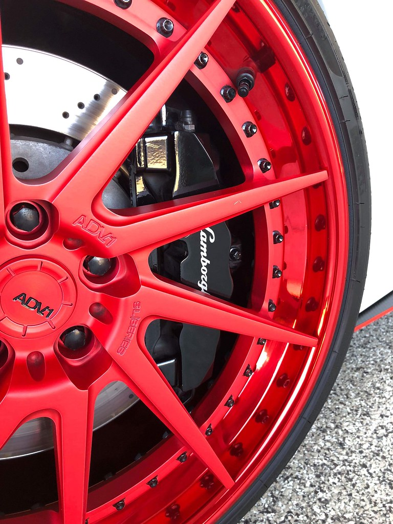 Wheel and Caliper