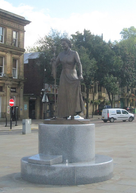 Statue of Gracie Fields, Rochdale Town Square