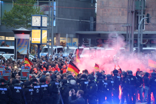 Chemnitz: Rechtsextreme Kundgebung am 27.08.2018