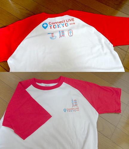 配布のTシャツ