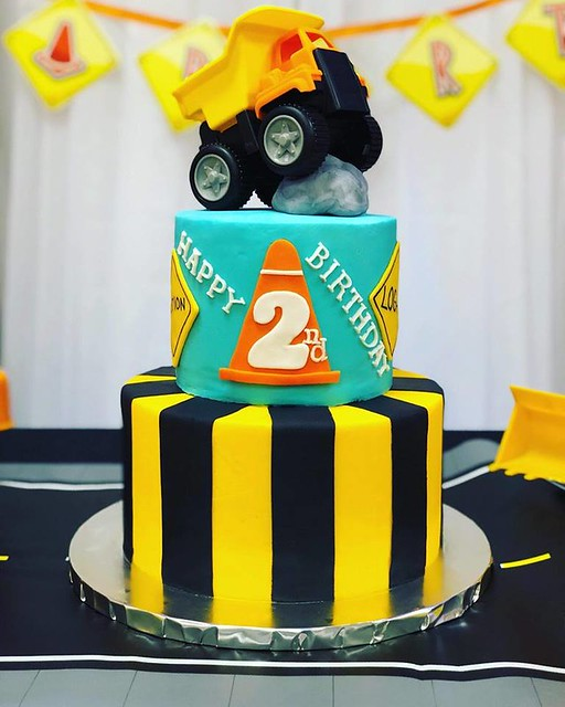 Construction Cake by Way's Cakes