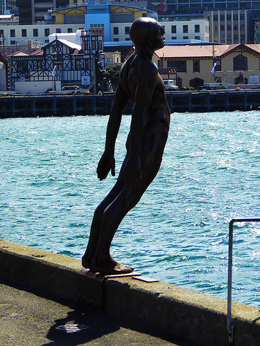 """The sculpture """"Solace of the Wind"""" by Max Patte has become an iconic landmark along Wellington's  waterfront, and is a must see when walking along Wellington's waterfront walk."""
