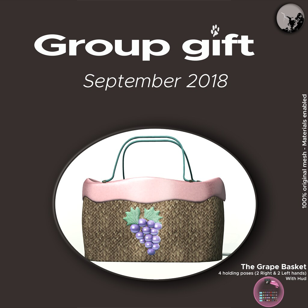 September Group Gift : The Grape Basket - TeleportHub.com Live!