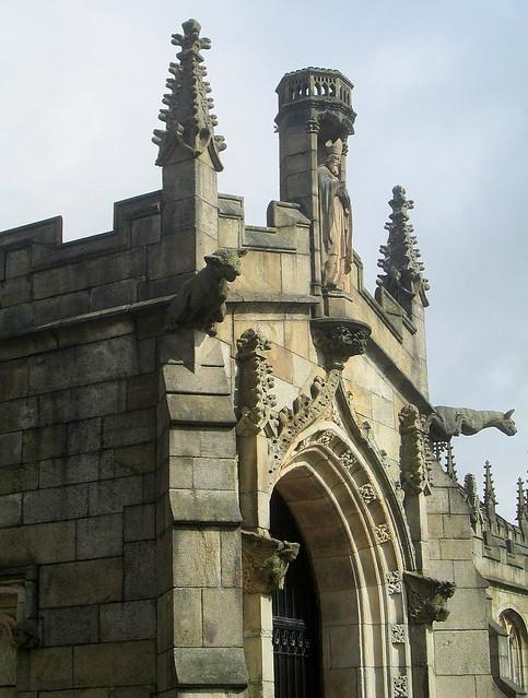 St Chad's Church, Rochdale, Detail