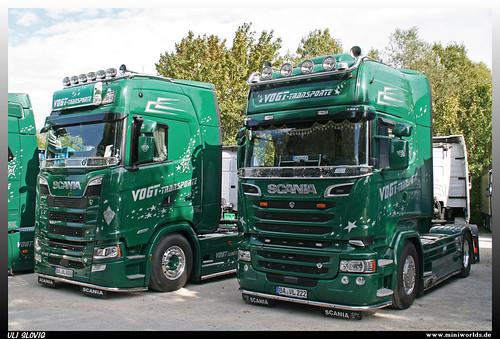 Scania S 580 and Scania R Streamline