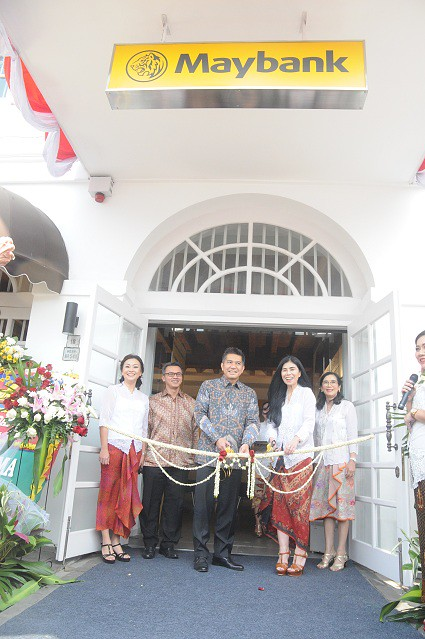 KCP Maybank di Jalan Kali Besar Barat Beroperasi Kembali