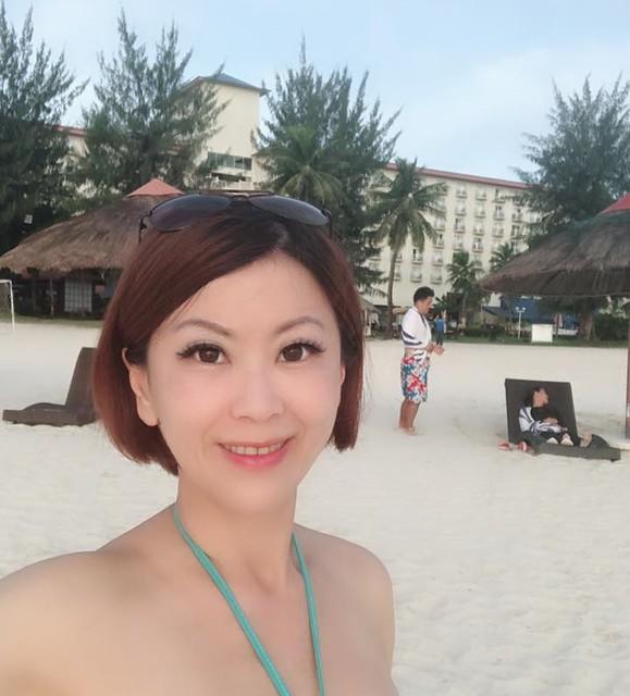 塞班飯店跟陳偉強師傅會面 (8)