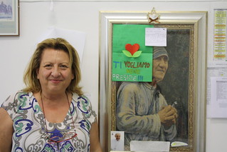 Beatrice De Donato e il suo modello Madre Teresa di Calcutta
