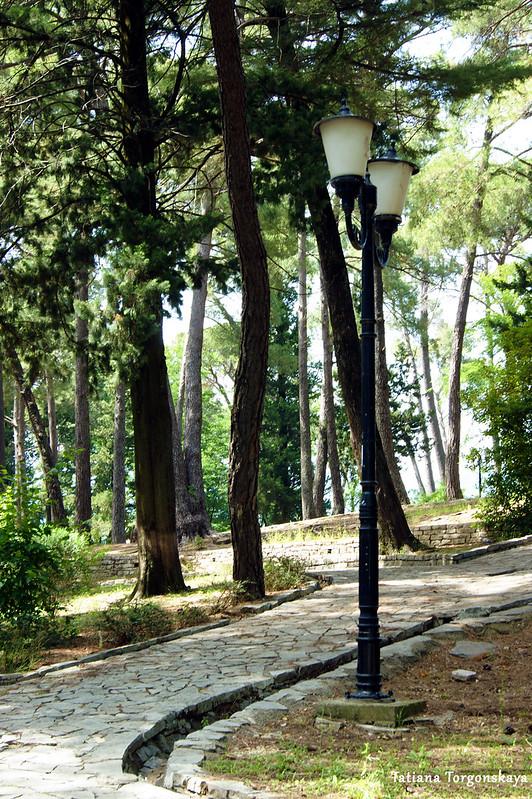 Пейзаж из Городского парка
