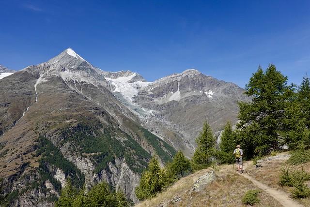 Double glacier view