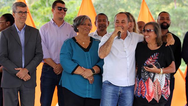 Lançamento da Pedra fundamental do automobilística da Bahia. www.esportenarede.com.br