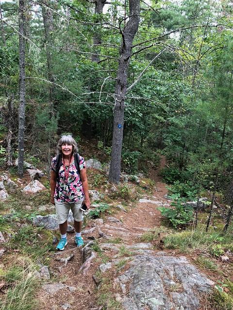 Samuel de Champlain - Hike trail Linda
