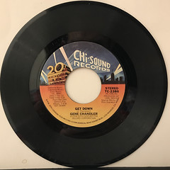 GENE CHANDLER:GET DOWN(RECORD SIDE-A)