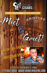 Kristoff Cigar Event-Smoke Inn Cigars, Vero Beach