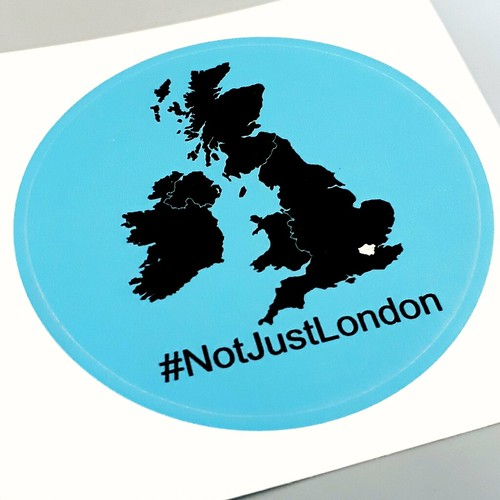 #NotJustLondon | by psd