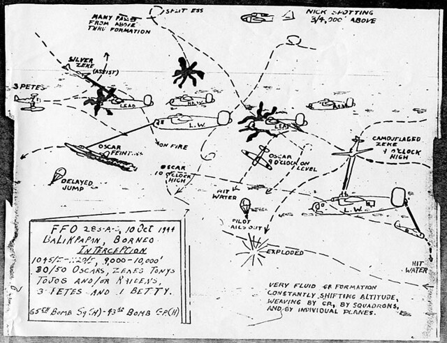 Piecing Together An Air Battle Balikpapan October 10 1944