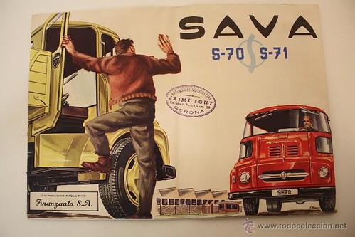 portada camió Sava S-70 1961 concessionari Jaume Font Girona