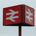 Preston - British Rail Sign 180616