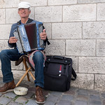 Competition: 18/09/2018 - PDI. League 1. Open. Accordion Player, Montmartre by John J Fogarty